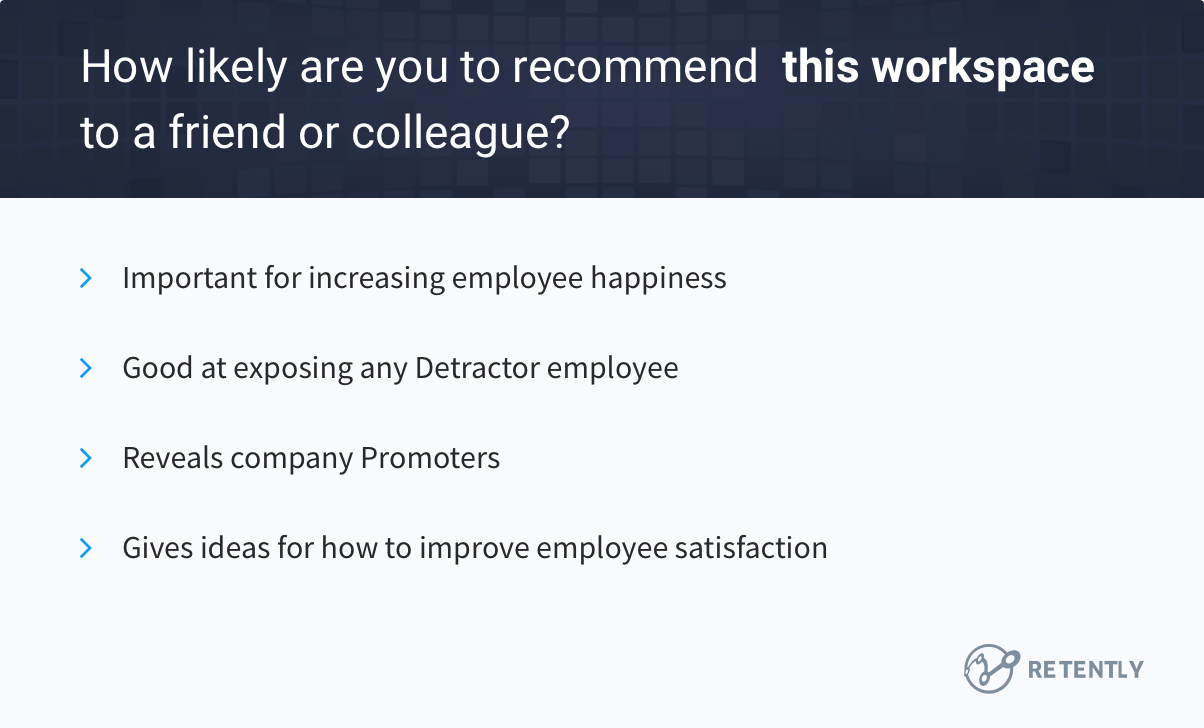 eNPS - Find out how satisfied your employees are