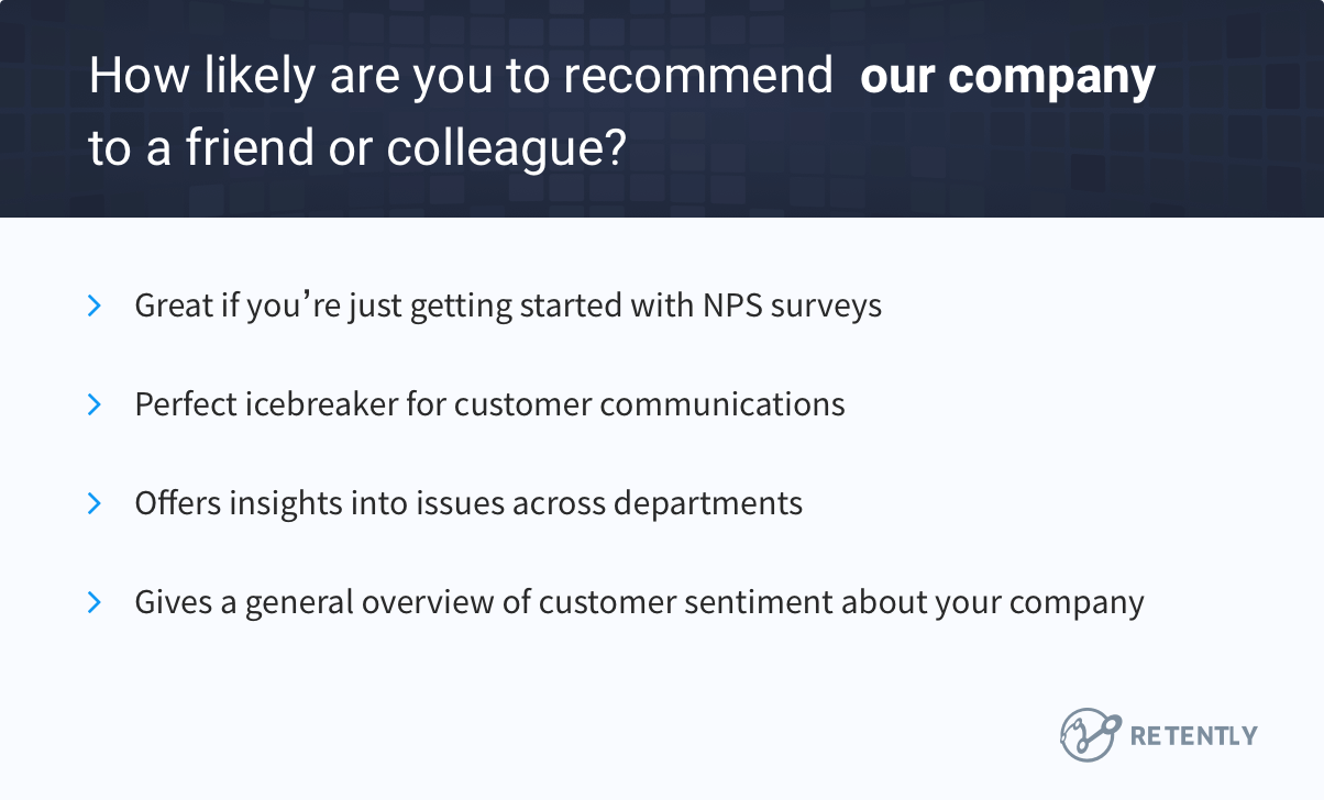 Ask customers to rate your company